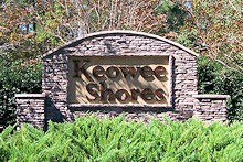 Keowee Shores waterfront community