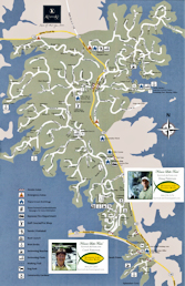 Keowee Key map