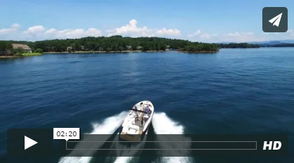Boating on Lake Keowee