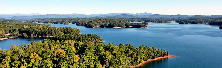 Lake Keowee near Keowee Key Marina